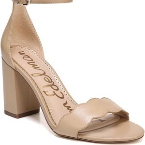 Sam Edelman Odelia Classic Nude Nappa Leather 7.5